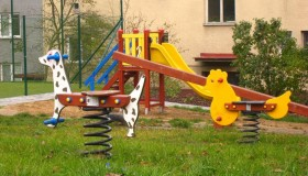 Centrální dětská hřiště Uherský Brod