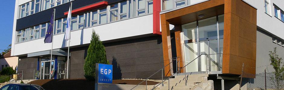 Celková revitalizace budovy EGP Invest
