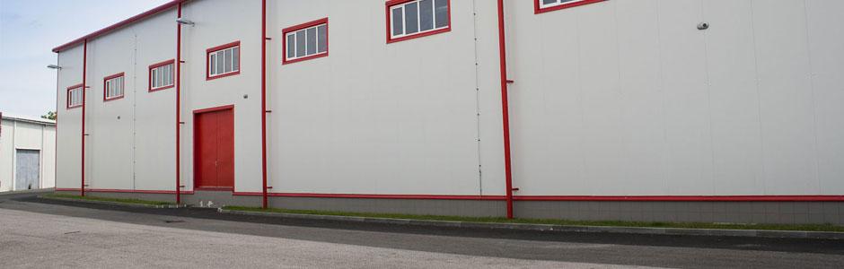 Výstavba nové skladové haly Linea Nivnice